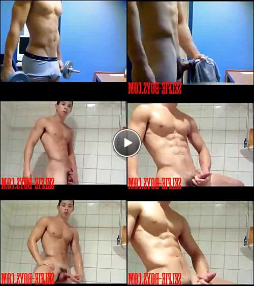 muscle hunk model video